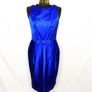 Badgley Mischa Royal Blue Cocktail Dress J127